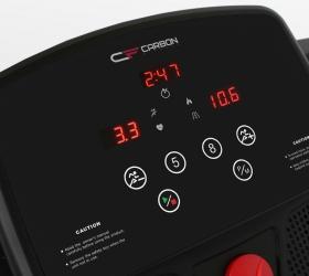 CARBON FITNESS T500 Беговая дорожка домашняя - 3 буквенно-цифровых LED-дисплея