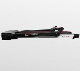 CARBON FITNESS T510 SLIM Беговая дорожка домашняя - В сложенном виде толщина тренажера составляет всего 24 см