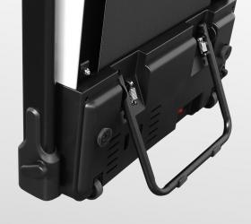 CARBON FITNESS T510 SLIM Беговая дорожка домашняя - Подставка для размещения в вертикальном положении