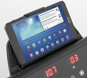 CARBON FITNESS T510 SLIM Беговая дорожка домашняя - Подставка под планшет или смартфон