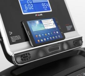 OXYGEN FITNESS NEW CLASSIC AURUM AC LCD Беговая дорожка - Подставка для гаджетов