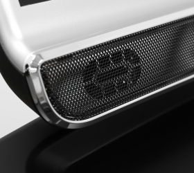 OXYGEN FITNESS NEW CLASSIC PLATINUM AC LED Беговая дорожка - Встроенные динамики мощностью 5 Ватт