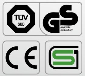 OXYGEN FITNESS NEW CLASSIC PLATINUM AC LED Беговая дорожка - Обязательные сертификаты: европейский CE, немецкий GS TUV, японский SG