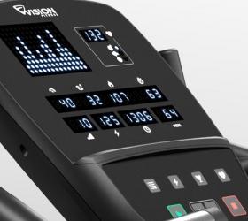 VISION U60 (U60-03) Matte Black Вертикальный велоэргометр - Подставка для мобильных устройств и планшетов