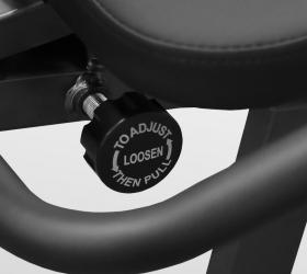CARBON FITNESS M808 Велотренажер - Бесшаговая горизонтальная регулировка сиденья