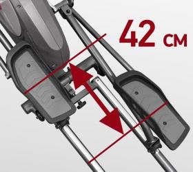CARBON FITNESS F808 CF Эллиптический тренажер - Длина шага 42 см.
