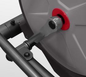 CARBON FITNESS F808 CF Эллиптический тренажер - Трехкомпонентный дисковый педальный узел