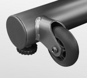 CARBON FITNESS F808 CF Эллиптический тренажер - Транспортировочные ролики и компенсаторы неровностей пола