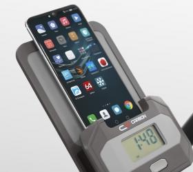 CARBON FITNESS U318 MAGNEX Велотренажер - Подставка для смартфонов