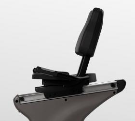 VISION R60 (R60-03) Matte Black Велоэргометр - Широкий диапазон регулировки сиденья