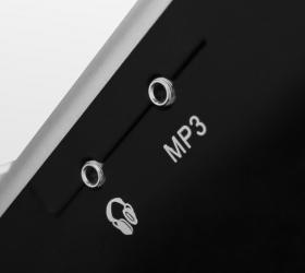 OXYGEN FITNESS NEW CLASSIC AURUM AC TFT Беговая дорожка - Воспроизведение аудио при помощи AUX IN, AUX OUT и USB