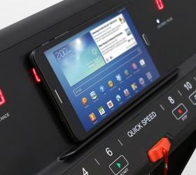 CARBON FITNESS T508 SLIM Беговая дорожка - Подставка под планшет или смартфон