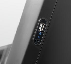 BRONZE GYM T960 PRO Беговая дорожка - Разъемы AUX и USB