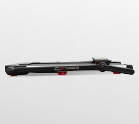 CARBON FITNESS T608 SLIM Беговая дорожка домашняя - В сложенном виде толщина тренажера составляет всего 17 см