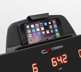 CARBON FITNESS T608 SLIM Беговая дорожка домашняя - Подставка под планшет или смартфон