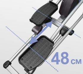 OXYGEN FITNESS EX-54 HRC Эллиптический тренажер - Длина шага 48 см