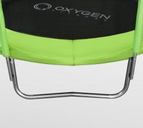 Батут Oxygen Fitness Standard 8 ft outside (Light green) - 3 устойчивые, оцинкованные W-образные опоры