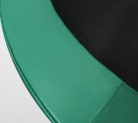ARLAND Батут премиум 14FT с внутренней страховочной сеткой и лестницей (Dark green) - Защитный мат из PVC материала с PE-покрытием