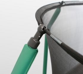 Батут Oxygen Fitness Premium 10 ft inside (Dark green) - Система натяжения и крепежа защитной сетки