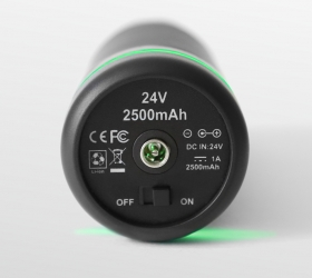 PHOENIX A1 Массажер - Включение/выключение оборудования, разъем для зарядки аккумулятора