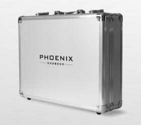 PHOENIX A1 Массажер - Металлический кейс для бережного хранения и переноски
