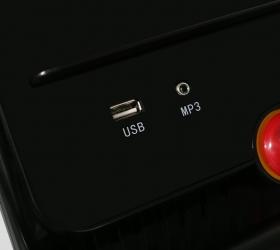 APPLEGATE T6 C Беговая дорожка - Воспроизведение аудио при помощи USB и AUX