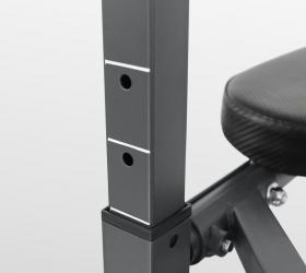 OXYGEN FITNESS DENTON Турник/пресс/брусья - Высота оборудования регулируется по высоте в 5 положениях (196,  201, 206, 211, 216 см)