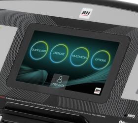 BH FITNESS RC09 TFT Беговая дорожка - Технология Touch&Fun