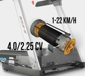BH FITNESS I.RC09 Беговая дорожка - Двигатель постоянного тока (DC) с мощностью в 2,25 л.с