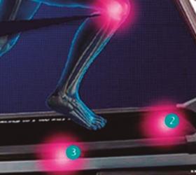 BH FITNESS PIONEER R2 Беговая дорожка - 6 демпфирующих эластомеров