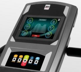 BH FITNESS CRYSTAL TFT Эллиптический тренажер - Технология Touch&Fun