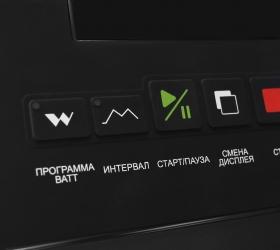 BRONZE GYM XE1200M PRO Эллиптический эргометр - Русифицированные кнопки консоли