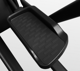 BRONZE GYM XE1200M PRO Эллиптический эргометр - Антискользящие педали увеличенного размера