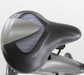 BH FITNESS CARBON BIKE DUAL Велотренажер - Сиденье увеличенного размера XXL с регулировкой по вертикали и горизонтали