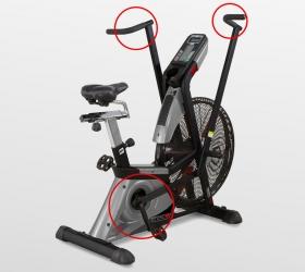 BH FITNESS CROSSBIKE 1100 Велотренажер - Тренировка верхней и нижней части тела