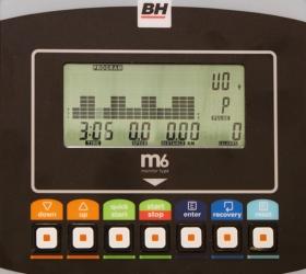 BH FITNESS NEXOR DUAL Велотренажер - Многофункциональный черно-белый LCD-дисплей M6