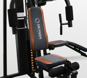 OXYGEN FITNESS VIKING Силовой комплекс - Эргономичное сиденье с поролоновой подушкой