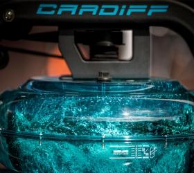 BH FITNESS CARDIFF Гребной тренажер - Водоналивная система нагружения