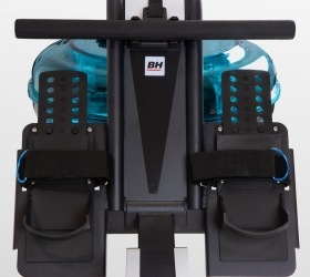 BH FITNESS CARDIFF Гребной тренажер - Регулируемые педали