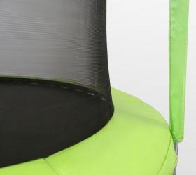 ARLAND Батут 12FT с внутренней страховочной сеткой и лестницей (Light green) - Внутрення сетка