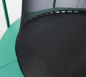 ARLAND Батут премиум 12FT с внутренней страховочной сеткой и лестницей (Dark green) - Внутренняя сетка