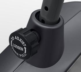 CARBON FITNESS U804/U804 NEW Велоэргометр - Регулировка сидения по вертикали