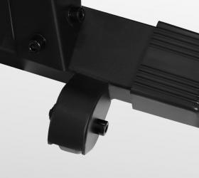 BRONZE GYM RW1000M PRO TURBO Гребной тренажер - Транспортировочные ролики