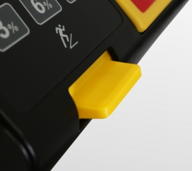 BRONZE GYM T1200M PRO Беговая дорожка - Трекпад для удобной регулировки скорости и угла наклона