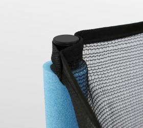 ARLAND Мини батут с защитной сеткой - Система натяжения и крепежа защитной сетки