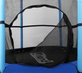 ARLAND Мини батут с защитной сеткой - Удобная, двухсторонняя застежка-молния