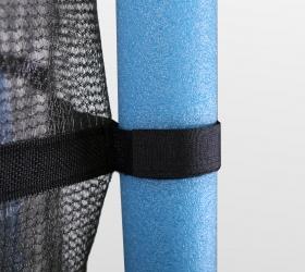 ARLAND Мини батут с защитной сеткой - 6 стоек покрытых защитным EPE foam