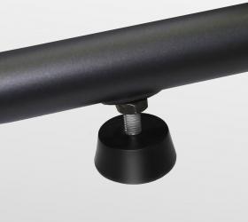 BRONZE GYM E1000M PRO TURBO Эллиптический тренажер - Компенсаторы неровностей пола