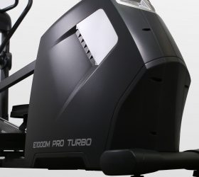 BRONZE GYM E1000M PRO TURBO Эллиптический тренажер - Маховик с инерционным весом 25 кг