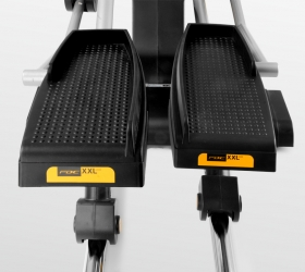 BH FITNESS I.FDC19 Эллиптический тренажер - Минимальное расстояние между педалями (14 см)